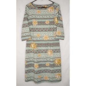 J. McLaughlin Mari Dress Sun Medallion Catalina L